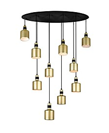 Forate 10 Light Multi Light Pendant