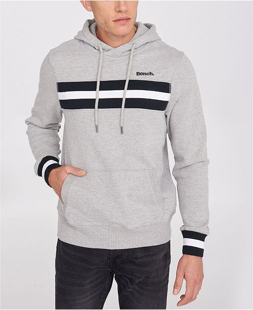 Athletic Hoodie with Stripe