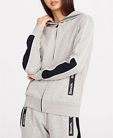 Zip Hoody With Side Bench Zippers