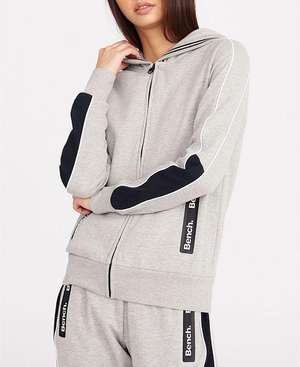 Bench Urbanwear Zip Hoody With Side Bench Zippers
