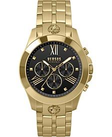 Men's Chronograph Lion Gold Ion-Plated Bracelet Watch 44mm