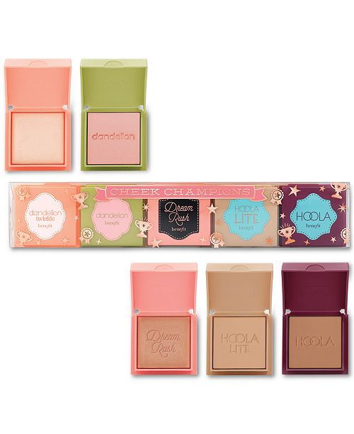 Benefit Cosmetics 5-Pc. Cheek Champions Gift Set