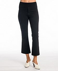 Bellucci Stretch Ponte Flare Crop Pant