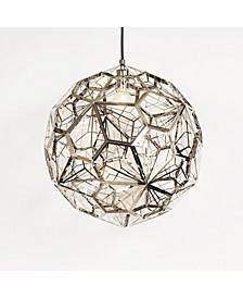 Web Etch Globe Light