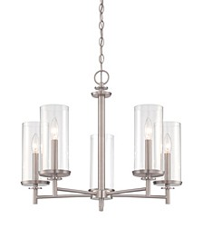 Designers Fountain Harlowe 5 Light Chandelier