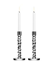 Carat Small Candlestick Pair