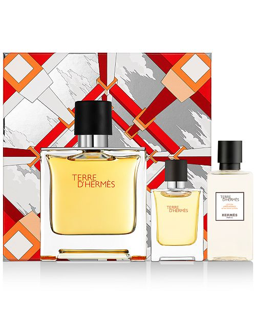HERMES  Men's 3-Pc. Terre d'Hermès Pure Perfume Gift Set