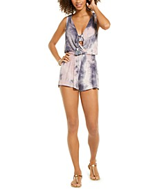 Tide Pool Tie-Dye Romper Cover-Up