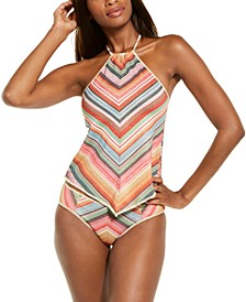 West Village Printed Tankini Top & Hipster Bottoms