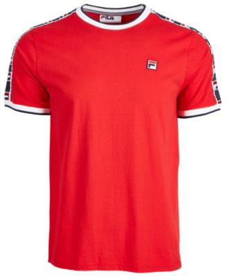 Fila Men's Side Tape T-shirt In Chinese