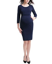 Penelope Maternity Midi Dress