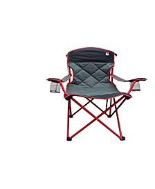 Padded Quad Folding Camp Chair