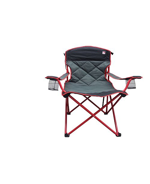 Outdoor Spectator Padded Quad Folding Camp Chair