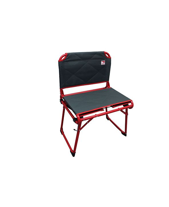 Outdoor Spectator Deluxe Fold and Go Convertible Padded Director Stadium Seat