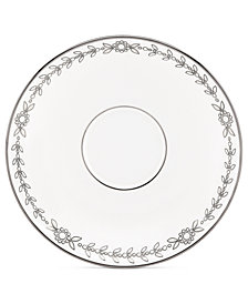 Marchesa by Lenox Dinnerware, Empire Pearl Saucer