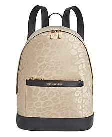 Leopard Nylon Backpack