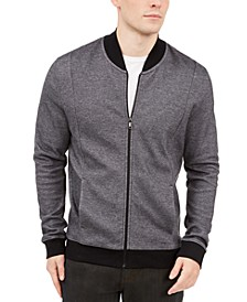 Men's Zip-Front Sweater Jacket, Created For Macy's