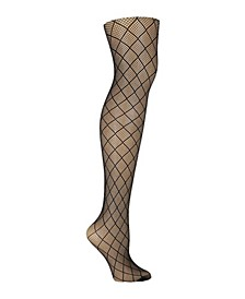 Women's Large Fishnet Tight, Online Only