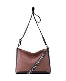 Camila Leather Shoulder Bag