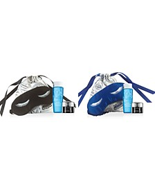 Receive a FREE 4pc Gift with Your Choice of Eye Mask & Bag with any $35 Purchase