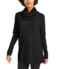 Turtleneck Tunic Sweater
