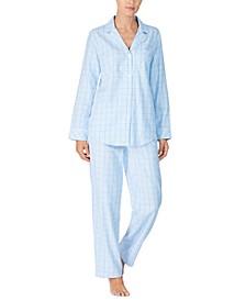 Women's Brushed Cotton Pajama Set