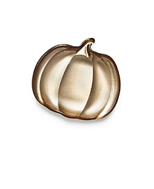 Martha Stewart Collection Pumpkin Appetizer Plate, Created for Macy's