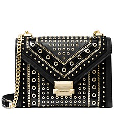 Whitney Studded Shoulder Bag