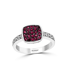 EFFY Certified Ruby (1/2 ct. t.w.) Ring in Sterling Silver