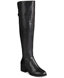 INC Women's Karmenn Riding Boots, Created For Macy's