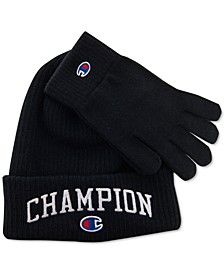 Men's Beanie & Gloves Set, Created for Macy's