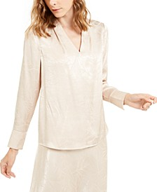Printed Satin Top, Created For Macy's