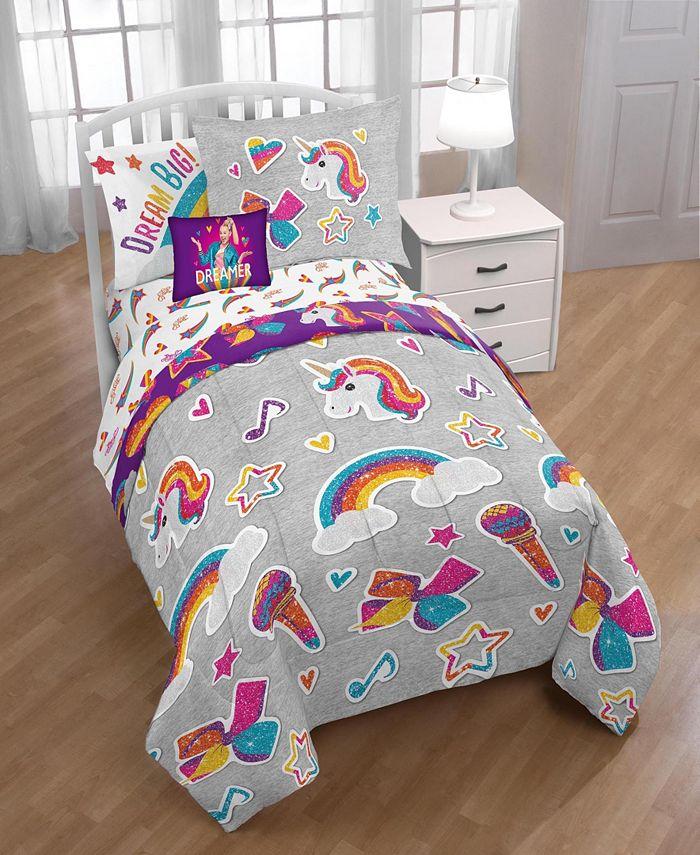 Jojo Siwa - JoJo Rainbow Sparkle Comforter Set
