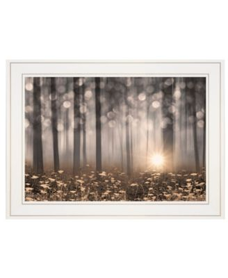 """Enchanted Morning by Lori Deiter, Ready to hang Framed Print, White Frame, 21"""" x 15"""""""