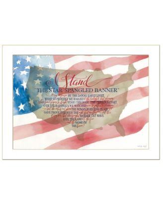 """I Stand by Cindy Jacobs, Ready to hang Framed Print, White Frame, 26"""" x 20"""""""