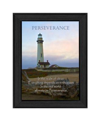 "Perseverance By Trendy Decor4U, Printed Wall Art, Ready to hang, Black Frame, 10"" x 14"""