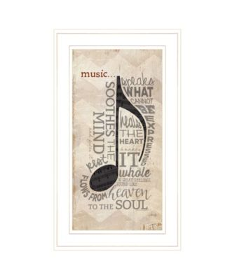 """Music by Marla Rae, Ready to hang Framed Print, White Frame, 12"""" x 21"""""""