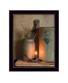 """No.3 Bee Sting By SUSAn Boyer, Printed Wall Art, Ready to hang, Black Frame, 14"""" x 18"""""""