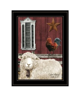 """Good Morning by Billy Jacobs, Ready to hang Framed Print, Black Frame, 15"""" x 19"""""""