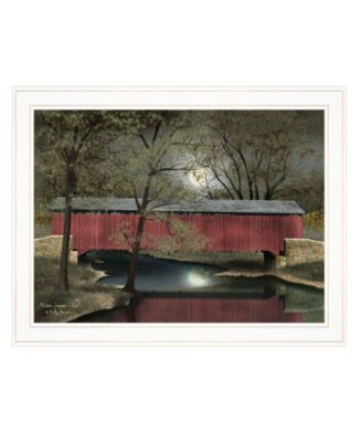 """Warm Summer's Eve by Billy Jacobs, Ready to hang Framed Print, White Frame, 27"""" x 21"""""""