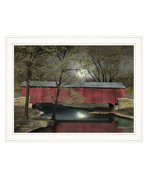 "Trendy Decor 4U Trendy Decor 4U Warm Summer's Eve by Billy Jacobs, Ready to hang Framed Print, White Frame, 27"" x 21"""