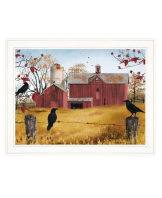 """Autumn Gold by Billy Jacobs, Ready to hang Framed Print, White Frame, 27"""" x 21"""""""