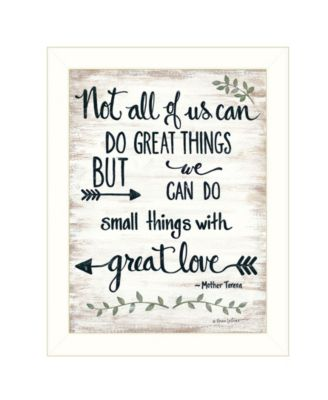 """Great Love by Annie LaPoint, Ready to hang Framed Print, White Frame, 14"""" x 18"""""""