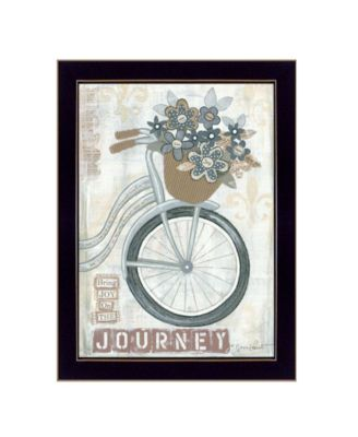 """Journey By Annie LaPoint, Printed Wall Art, Ready to hang, Black Frame, 20"""" x 14"""""""
