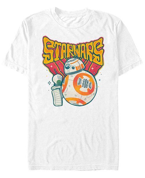 Star Wars Men's Rise of Skywalker Psychedelic BB-8 T-shirt