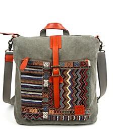 Four Season Convertible Canvas Backpack