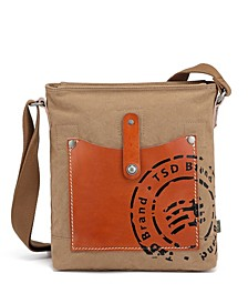 Super Horse Canvas Crossbody Bag