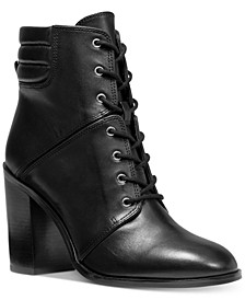 Thatcher Lace-Up Booties