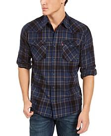 Men's Curran Regular-Fit Plaid Shirt