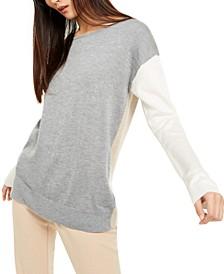 Crewneck Colorblocked Sweater